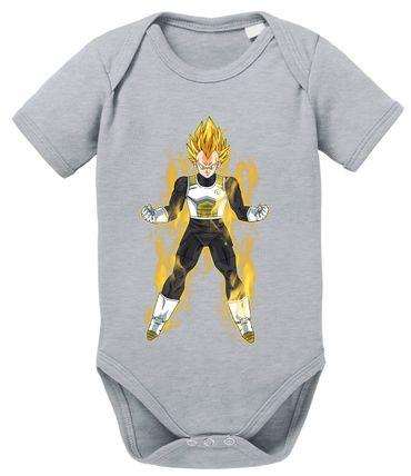 Vegeta Fire Dragon Proverbs Ball Son Baby Romper Organic Goku Cotton Bodysuit Boys & Girls 0-12 – Bild 9