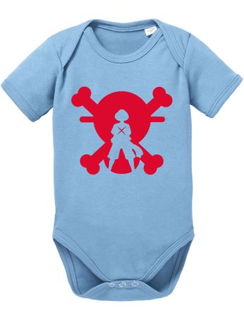 XR One Baby White Proverbs Luffy Piece Romper Beard Organic Cotton Bodysuit Boys & Girls 0-12 – Bild 6