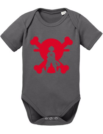 XR One Baby White Proverbs Luffy Piece Romper Beard Organic Cotton Bodysuit Boys & Girls 0-12 – Bild 3