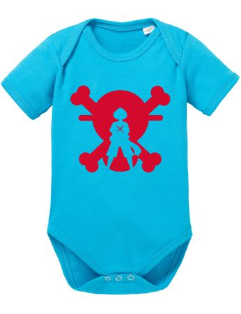 XR One Baby White Proverbs Luffy Piece Romper Beard Organic Cotton Bodysuit Boys & Girls 0-12 – Bild 5