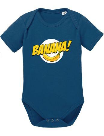Banazinga Big Baby Strampler Bang Bio Sheldon Baumwolle Theory Body Jungen & Mädchen 0-12 Monate – Bild 5