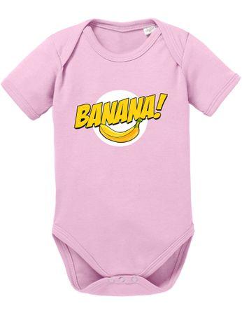 Banazinga Big Baby Strampler Bang Bio Sheldon Baumwolle Theory Body Jungen & Mädchen 0-12 Monate – Bild 6