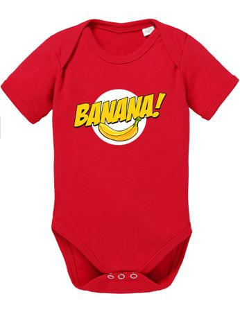 Banazinga Big Baby Sheldon Proverbs Bang Romper Organic Cotton Theory Bodysuit Boys & Girls 0-12 – Bild 1