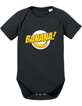 Banazinga Big Baby Sheldon Proverbs Bang Romper Organic Cotton Theory Bodysuit Boys & Girls 0-12 – Bild 2