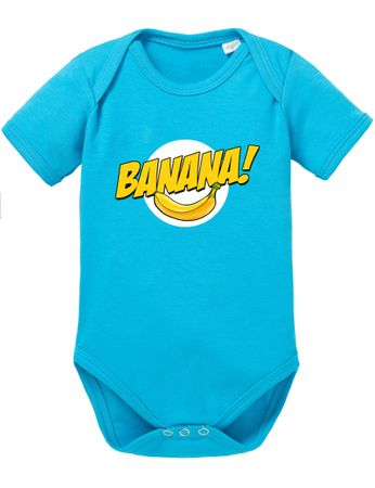 Banazinga Big Baby Sheldon Proverbs Bang Romper Organic Cotton Theory Bodysuit Boys & Girls 0-12 – Bild 7