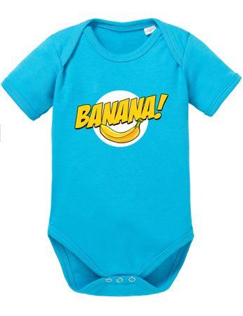 Banazinga Big Baby Strampler Bang Bio Sheldon Baumwolle Theory Body Jungen & Mädchen 0-12 Monate – Bild 7