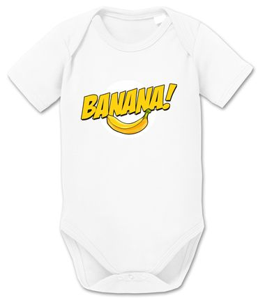 Banazinga Big Baby Sheldon Proverbs Bang Romper Organic Cotton Theory Bodysuit Boys & Girls 0-12 – Bild 8