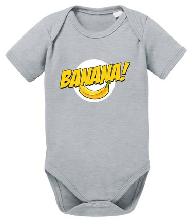 Banazinga Big Baby Strampler Bang Bio Sheldon Baumwolle Theory Body Jungen & Mädchen 0-12 Monate – Bild 9