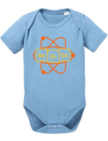 Bazinga Big Baby Sheldon Proverbs Bang Romper Organic Cotton Theory Bodysuit Boys & Girls 0-12 – Bild 6