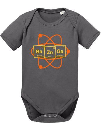 Bazinga Big Baby Strampler Bang Bio Sheldon Baumwolle Theory Body Jungen & Mädchen 0-12 Monate – Bild 2