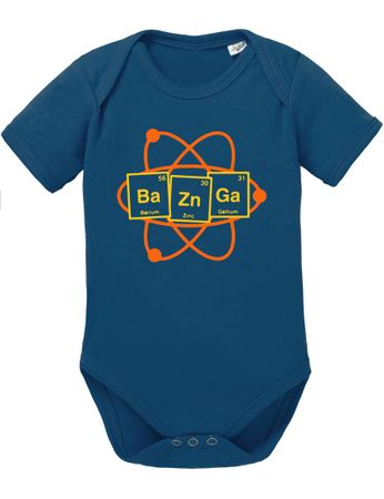 Bazinga Big Baby Sheldon Proverbs Bang Romper Organic Cotton Theory Bodysuit Boys & Girls 0-12 – Bild 5