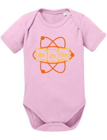 Bazinga Big Baby Sheldon Proverbs Bang Romper Organic Cotton Theory Bodysuit Boys & Girls 0-12 – Bild 3