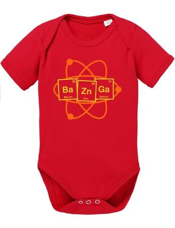 Bazinga Big Baby Sheldon Proverbs Bang Romper Organic Cotton Theory Bodysuit Boys & Girls 0-12 – Bild 4