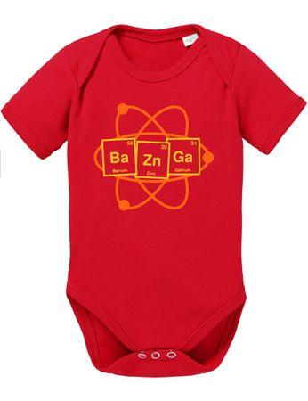 Bazinga Big Baby Strampler Bang Bio Sheldon Baumwolle Theory Body Jungen & Mädchen 0-12 Monate – Bild 4