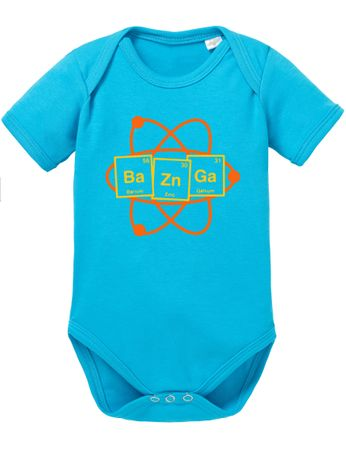 Bazinga Big Baby Sheldon Proverbs Bang Romper Organic Cotton Theory Bodysuit Boys & Girls 0-12 – Bild 7