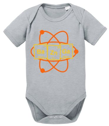 Bazinga Big Baby Sheldon Proverbs Bang Romper Organic Cotton Theory Bodysuit Boys & Girls 0-12 – Bild 9