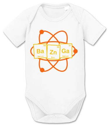 Bazinga Big Baby Sheldon Proverbs Bang Romper Organic Cotton Theory Bodysuit Boys & Girls 0-12 – Bild 8