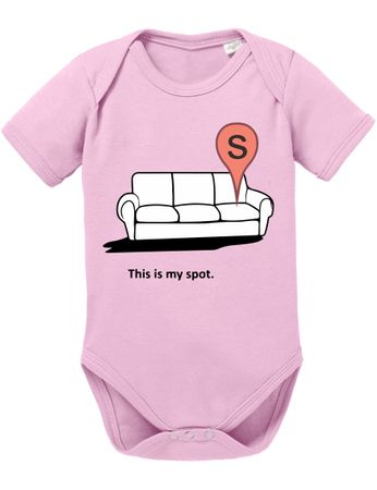 My Spot Big Baby Sheldon Proverbs Bang Romper Organic Cotton Theory Bodysuit Boys & Girls 0-12 – Bild 2