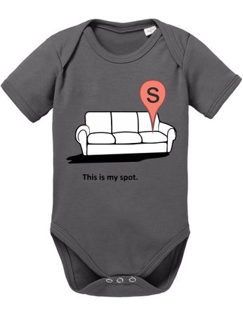 My Spot Big Baby Sheldon Proverbs Bang Romper Organic Cotton Theory Bodysuit Boys & Girls 0-12 – Bild 5