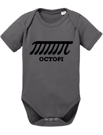 Octopi Big Baby Sheldon Proverbs Bang Romper Organic Cotton Theory Bodysuit Boys & Girls 0-12 – Bild 4