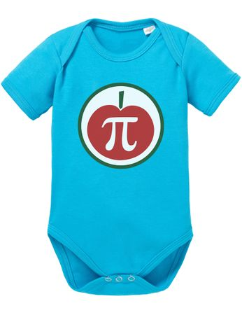 PI Apple Big Baby Sheldon Proverbs Bang Romper Organic Cotton Theory Bodysuit Boys & Girls 0-12 – Bild 5