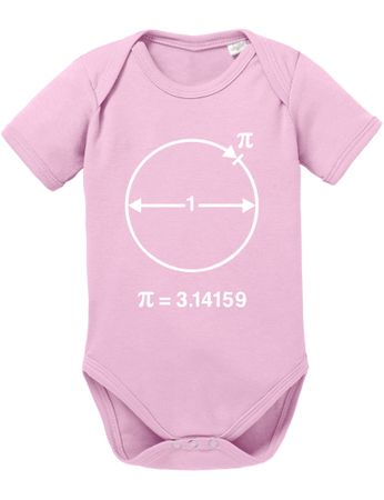 PI Circular Big Baby Sheldon Proverbs Bang Romper Organic Cotton Theory Bodysuit Boys & Girls 0-12 – Bild 4