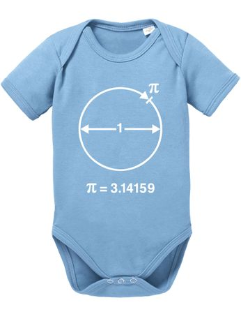 PI Circular Big Baby Sheldon Proverbs Bang Romper Organic Cotton Theory Bodysuit Boys & Girls 0-12 – Bild 7