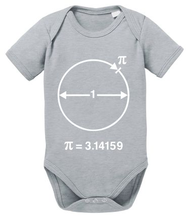 PI Circular Big Baby Sheldon Proverbs Bang Romper Organic Cotton Theory Bodysuit Boys & Girls 0-12 – Bild 8