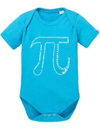 PI Number Big Baby Sheldon Proverbs Bang Romper Organic Cotton Theory Bodysuit Boys & Girls 0-12 – Bild 4