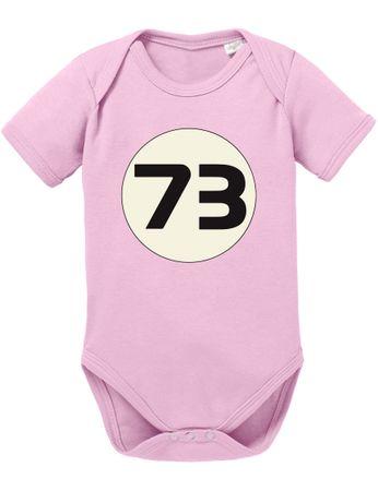 Sheldon 73 Big Baby Sheldon Proverbs Bang Romper Organic Cotton Theory Bodysuit Boys & Girls 0-12 – Bild 5