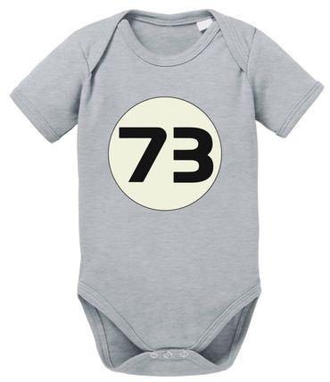 Sheldon 73 Big Baby Sheldon Proverbs Bang Romper Organic Cotton Theory Bodysuit Boys & Girls 0-12 – Bild 1