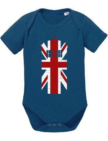 Dr UK Doctor Baby Proverbs Who Romper Organic Cotton Bodysuit Boys & Girls 0-12 Tv Serie – Bild 1