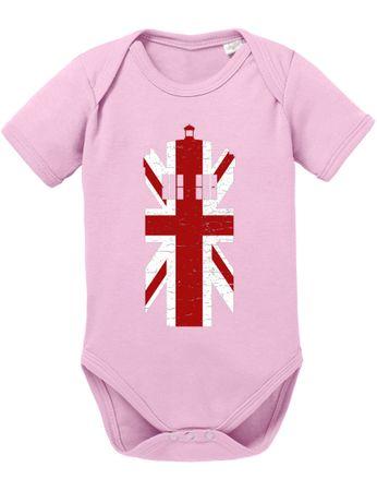 Dr UK Doctor Baby Proverbs Who Romper Organic Cotton Bodysuit Boys & Girls 0-12 Tv Serie – Bild 5