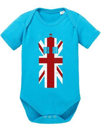 Dr UK Doctor Baby Proverbs Who Romper Organic Cotton Bodysuit Boys & Girls 0-12 Tv Serie – Bild 4