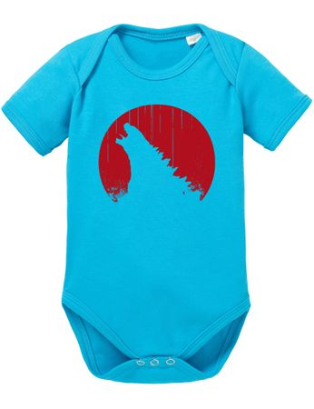 Godzila Roar Baby Proverbs Romper Organic Cotton Bodysuit Boys & Girls 0-12 Tv Serie – Bild 5