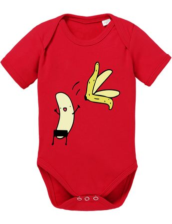 Naked Banana Big Baby Sheldon Proverbs Bang Romper Organic Cotton Theory Bodysuit Boys & Girls 0-12 – Bild 4