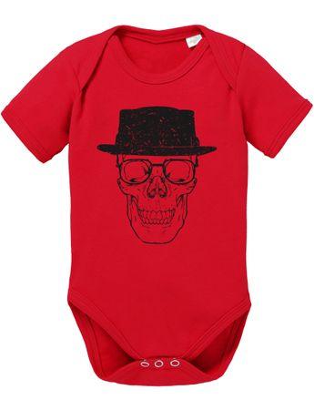 Skull Heisen Baby Breaking Proverbs Walther Romper Organic White Cotton Bad Bodysuit Boys & Girls 0-12 – Bild 5