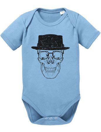 Skull Heisen Baby Breaking Proverbs Walther Romper Organic White Cotton Bad Bodysuit Boys & Girls 0-12 – Bild 7