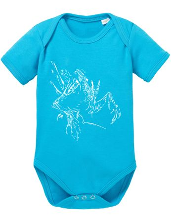 Xeno Men In Baby Proverbs Black Romper Organic MIB Cotton Bodysuit Boys & Girls 0-12 – Bild 5