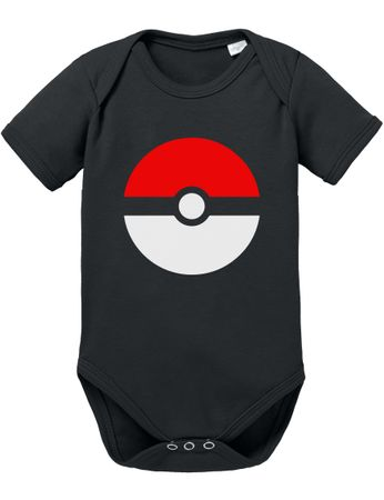 Poke Baby Proverbs Poké Romper Star Organic Ball Cotton Bodysuit Boys & Girls 0-12 – Bild 1