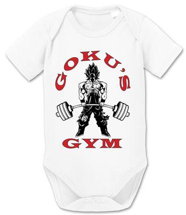 Goku Golds Baby Dragon Proverbs Ball Son Romper Organic Cotton Bodysuit Boys & Girls 0-12 – Bild 1