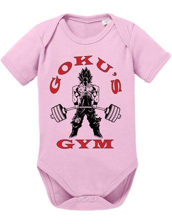 Goku Golds Baby Dragon Son Ball Strampler Bio Baumwolle Body Jungen & Mädchen 0-12 Monate – Bild 6