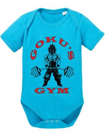 Goku Golds Baby Dragon Son Ball Strampler Bio Baumwolle Body Jungen & Mädchen 0-12 Monate – Bild 4