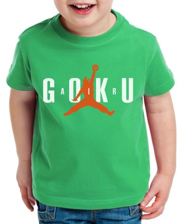 Air Goku Kinder T-Shirt Son Dragon Master Ball Vegeta Turtle Roshi Db – Bild 4