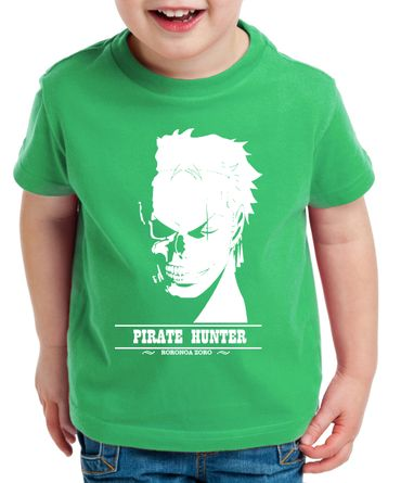 Hunter Zorro One Manga Kinder Ruffy T-Shirt Anime Piece – Bild 2