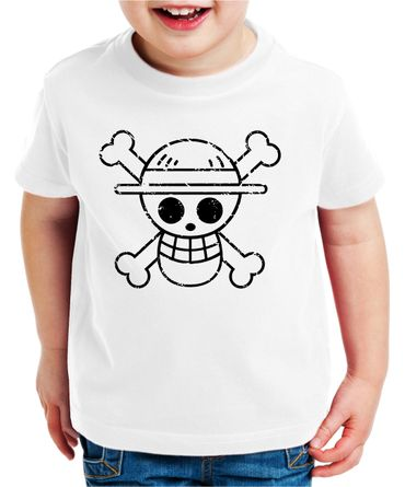 Logo Bruch Zorro One Manga Kinder Ruffy T-Shirt Anime Piece – Bild 4