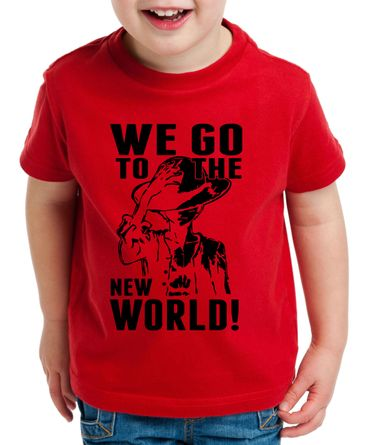 New World Zorro One Manga Kinder Ruffy T-Shirt Anime Piece – Bild 3