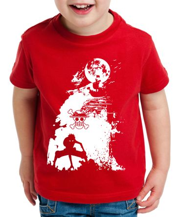 Ruffy Schiff Zorro One Manga Kinder T-Shirt Anime Piece – Bild 3