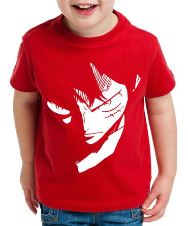 Ruffy Face Zorro One Manga Kinder T-Shirt Anime Piece – Bild 3