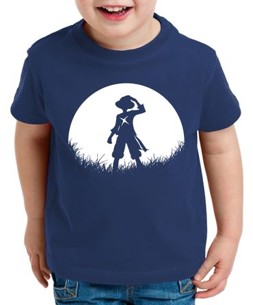 Sun Rise Ruffy Zorro One Manga Kinder T-Shirt Anime Piece – Bild 2